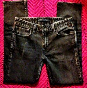 Guess men's slim straight jeans